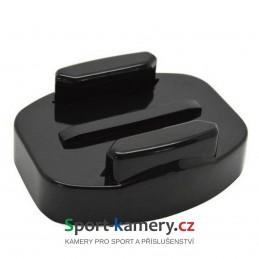 Držák kamery - šroubovací úchyt pro rychlo-upínací přezku na rovné ploc