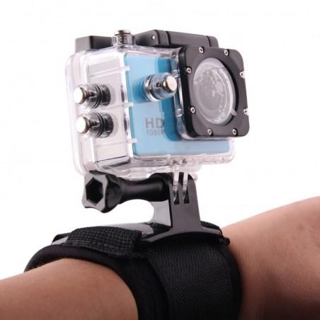 Držák kamery - popruh na zápěstí boční směr