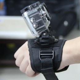 Držák kamery - 360° otočný rukavicový popruh na zápěstí