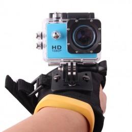 Držák kamery - rukavicový popruh na zápěstí přímý směr