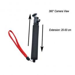 Držák kamery - Teleskopický Monopod 50cm + adapter