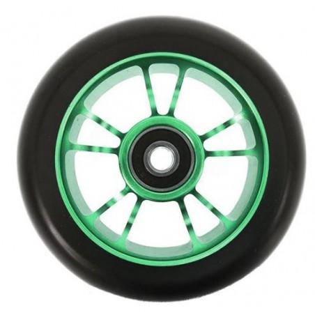 Kolečko BLUNT 10 Spokes 100mm | 86A | ABEC-9 | GREEN