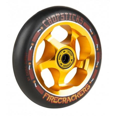 Kolečko CHOPSTICKS Firecrackers 110mm | 86A | BLACK-GOLD