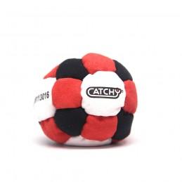 Footbag CATCHY Hakysák   BLACK-RED