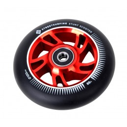Kolečko STREET SURFING 100mm | 88A | ABEC-9 | BLACK-RED