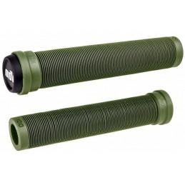 Gripy ODI Longneck SLX Soft 160mm   LONG ARMY GREEN
