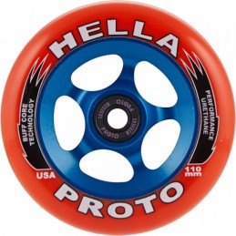Kolečko PROTOxHELLAGRIP Pro 110mm | 88A | ABEC-9 | RED-BLUE