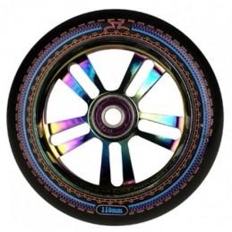 Kolečko AO Mandala 110mm | 88A | ABEC-9 | OILSLICK