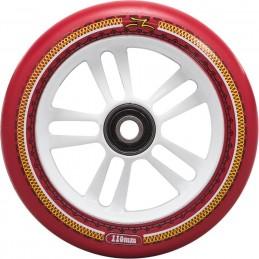 Kolečko AO Mandala 110mm | 88A | ABEC-9 | WHITE-RED