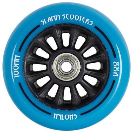 Kolečko SLAMM 100mm   ABEC-9   BLACK-BLUE