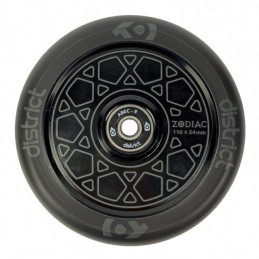 Kolečko DISTRICT Zodiac 110mm   86A   ABEC-9   BLACK