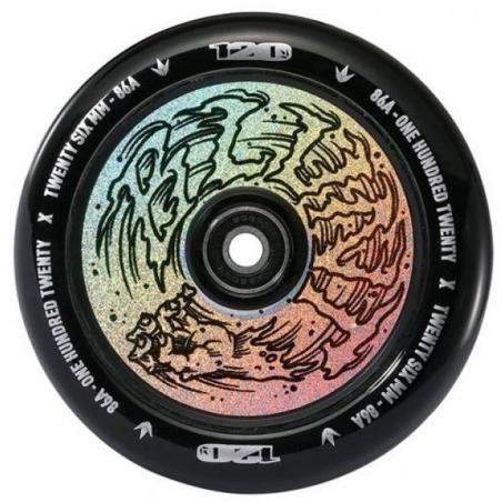 Kolečko BLUNT Hollow Hologram 120mm | ABEC-9 | HAND