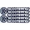 Sada 7 ks originálních samolepek Scootering.cz na jednom archu. Sada obsahuje:5 ks samolepka Scootering.cz dlouhá 120 mm2 ks samolepka Scootering.cz kolečko 40 mm PVC samolepky vysoké kvality.