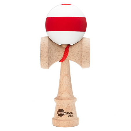 Kendama KENDAMA USA Kaizen 3.0 Shift Retro | Silk | WHITE-RED