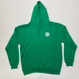 Mikina SCOOTERING Long Hoodie s kapucí | KELLY GREEN
