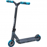 Koloběžka profesionální konstrukce pro výšku jezdce do 120 cm, vhodná pro jízdu a provádění triků ve skateparku nebo na ulici.Hmotnost 3 295 g. DOŽIVOTNÍ BEZPLATNÝ SERVIS U NÁS ZAKOUPENÉ KOLOBĚŽKY!