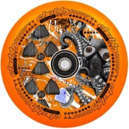 Kolečko CHUBBY Melocore Lab 110mm | ABEC-11 | NEON ORANGE