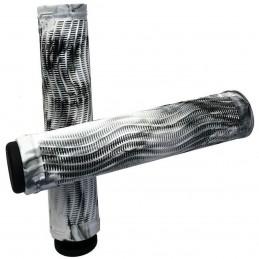 Gripy RAPTOR Slim Swirl 160mm | BLACK-WHITE