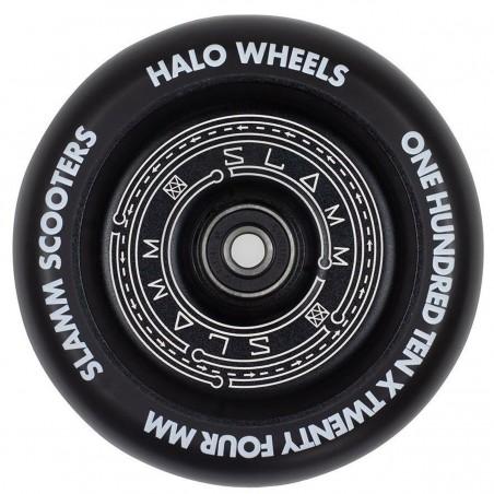 Kolečko SLAMM Halo 110mm | 88A | ABEC-9 | BLACK