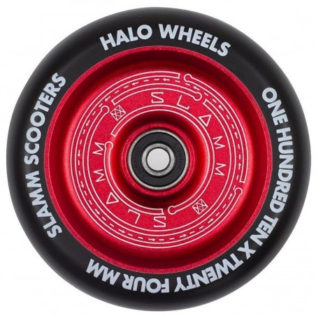 Kolečko SLAMM Halo 110mm | 88A | ABEC-9 | RED