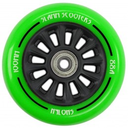 Kolečko SLAMM Ny-Core 100mm | ABEC-9 | BLACK-GREEN