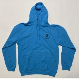 Mikina KENDAMING Hoodie s kapucí | HAWAI BLUE