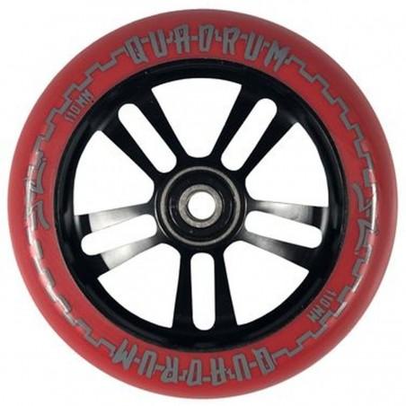 Kolečko AO Quadrum V3 5-hole 110mm | 88A | ABEC-9 | RED