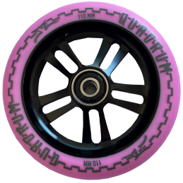 Kolečko AO Quadrum V3 5-hole 110mm | 88A | ABEC-9 | PINK