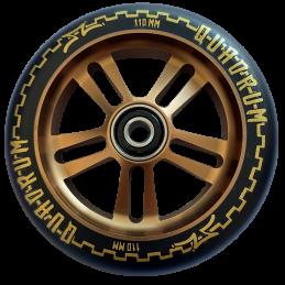 Kolečko AO Quadrum V3 5-hole 110mm | 88A | ABEC-9 | GOLD