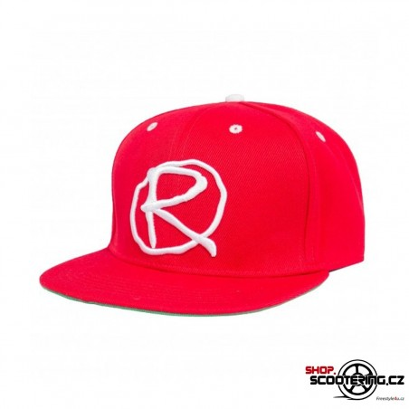 Kšiltová čepice RAMPWORX Cap RED Snapback