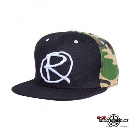 Kšiltová čepice RAMPWORX Cap Black-Camo Snapback