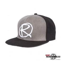 Kšiltová čepice RAMPWORX Cap Black-Grey Snapback