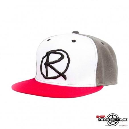 Kšiltová čepice RAMPWORX Cap White-Red Snapback