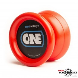 YOYO YOYOFACTORY ONE + LOŽISKO BOX RED