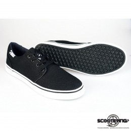 Boty ELYTS Rebel Canvas BLACK | VEL 40