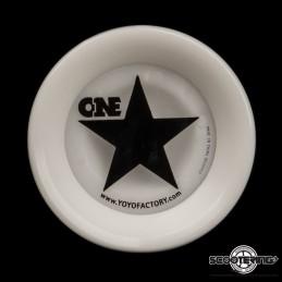 YOYO YOYOFACTORY OneStar s provázkem WHITE
