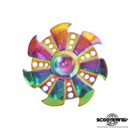 Spinner METALLIC Rainbow SHURIKEN