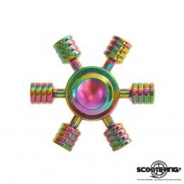 Spinner METALLIC Rainbow UFO