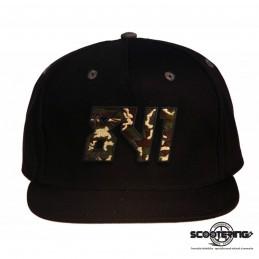 Kšiltová čepice 841 Snapback Cap   BLACK