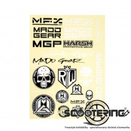 Samolepky MGP Madd Gear|Sada 22ks|A4