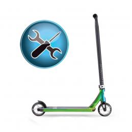 Sestavení Freestyle koloběžky a zabalení|SERVIS