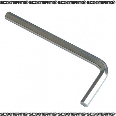 Klíč Imbusový| rozměr 95 x 35mm| velikost 6mm