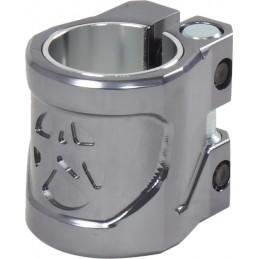 Objímka ADDICT Shield Scooter Gunmetal|32/35mm|SILVER