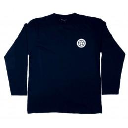 Tričko SCOOTERING Bavlna Classic | Dlouhé rukávy | BLACK-DLR