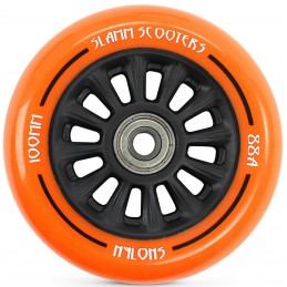 Kolečko SLAMM 100mm |ABEC-9| BLACK-ORANGE