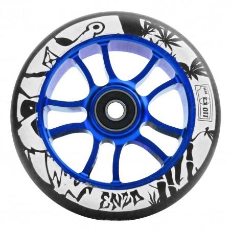 Kolečko AO Enzo BLUE/BLACK 110mm