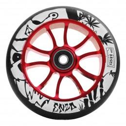 Kolečko AO Enzo RED/BLACK 125mm