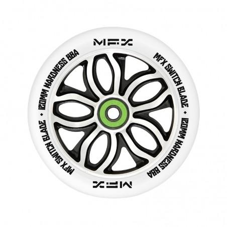 Kolečko MGP MFX RWilly Switchblade 120mm | K-3 Abec 11 Chrome | WHITE
