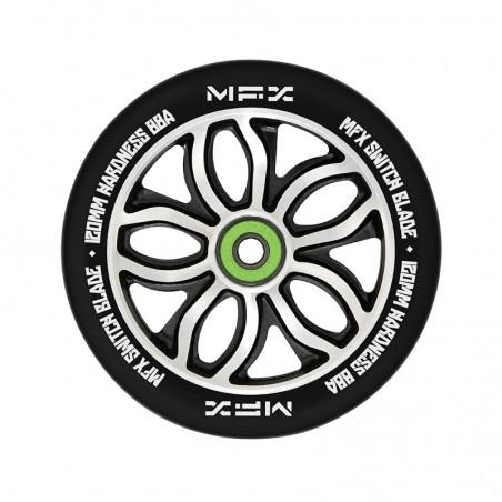 Kolečko MGP MFX RWilly Switchblade 120mm K-3 Abec 11 Chrome BLACK