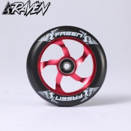 Kolečko FASEN Raven|110mm|ABEC-9| RED